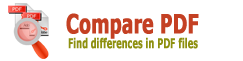 Compare PDF - find differences in PDF files